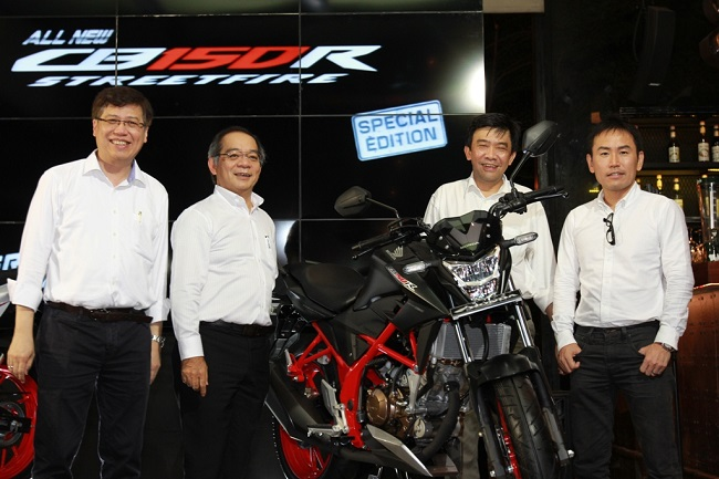 All New Honda CB150R StreetFire Special Edition tahun 2015 (2)