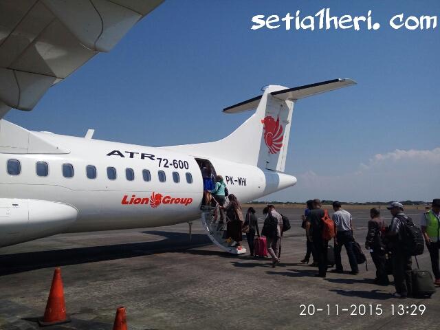 buritan pesawat Wings Air ATR 72-600