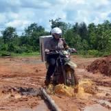 foto epik polwan mensukseskan pilkada di sumatra selatan tahun 2015 (1)