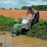 foto epik polwan mensukseskan pilkada di sumatra selatan tahun 2015 (2)
