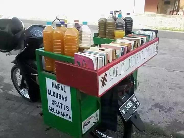 jualan jamu gratis bagi yang hapal al-qur'an