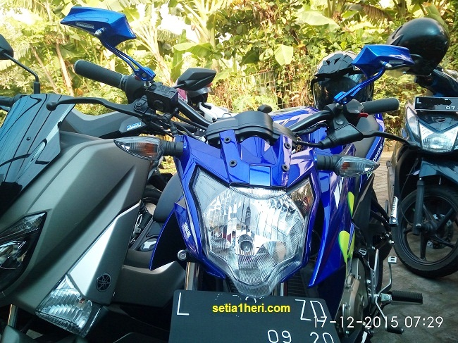 modifikasi minimalis yamaha new vixion advance 2015