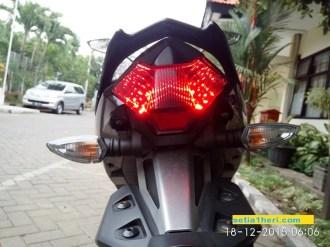 tail lamp Yamaha MX King 2015