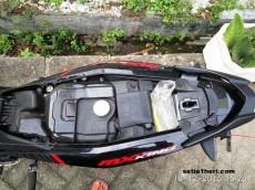 tidak ada bagasi pada Yamaha MX King