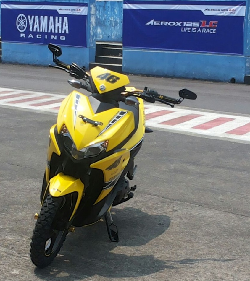 Modifikasi Aerox 125LC Edisi 60 Tahun Yamaha Motor Company