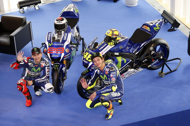 The 2016 Yamaha YZR-M1 revealed in Barcelona