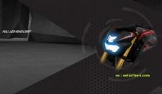 Yamaha Xabre Full Led Head Light