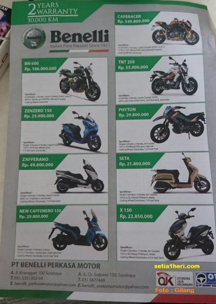 harga motor benelli di surabaya tahun 2016 (1)