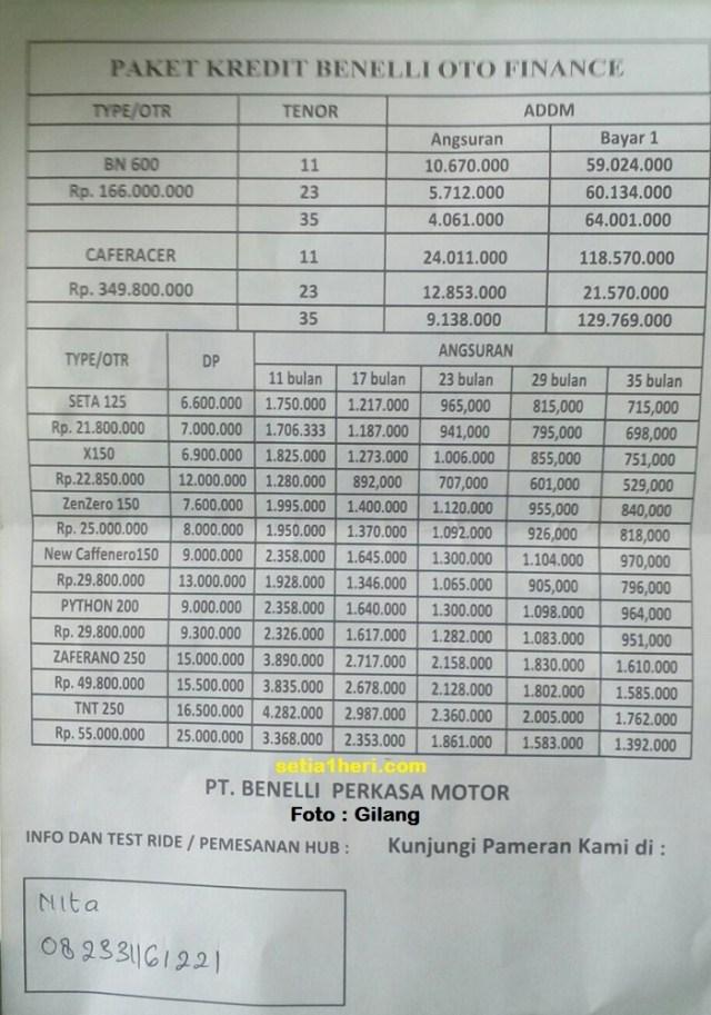 harga motor benelli di surabaya tahun 2016 (2)