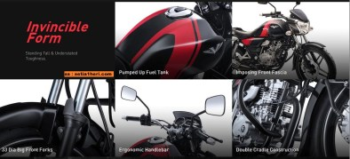 Bajaj V The Invincible Form tahun 2016