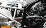 modifikasi bajaj pulsar 200 menjadi supermoto KTM 250 SX punya amir kisworo asal ponorogo tahun 2016 (9)