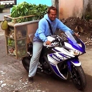 motor sport keren tukang sayur dan tukang siomay di Indonesia tahun 2016~02
