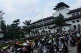 Komunitas yang hadir di Jambore Nasional pertama Indonesia Max Owners (IMO) dan Ultah pertama Bandung Nmax Community (BNC)