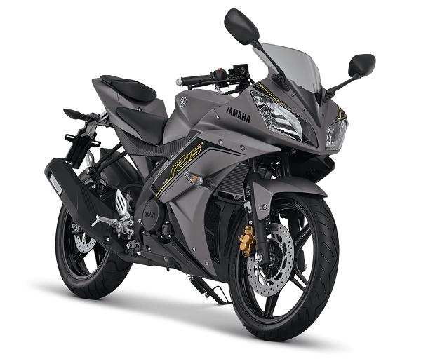 YZF-R15 Speed Grey tahun 2016