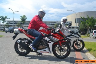 All New CBR150R Racing Red livery 2016