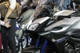Yamaha MT-09 Tracer di booth Yamaha di Indonesia International Motor Show (IIMS) 2016 (1)