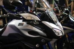 Yamaha MT-09 Tracer di booth Yamaha di Indonesia International Motor Show (IIMS) 2016 (13)