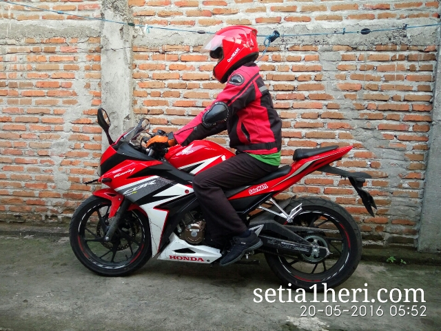 Honda All New CBR150R tahun 2016 dibuat riding harian~01