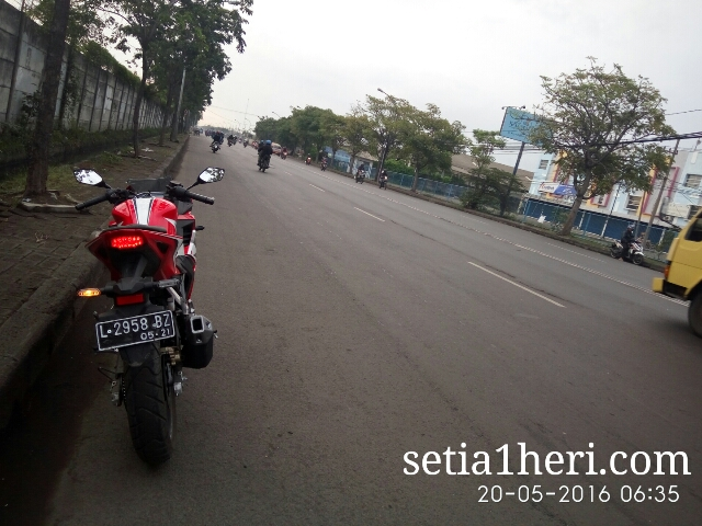 Honda All New CBR150R tahun 2016 dibuat riding harian~04
