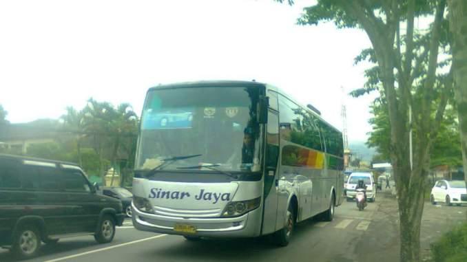 Greget Bus Sinar Jaya Ini Digondol Maling Di Terminal Wangon