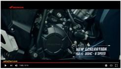 mesin all new honda supra gtr 150