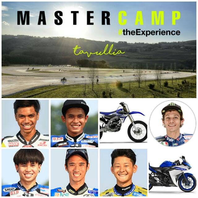 Galang dan Imanuel ikut The Master Camp 2016 di Italia bersama Valentino Rossi