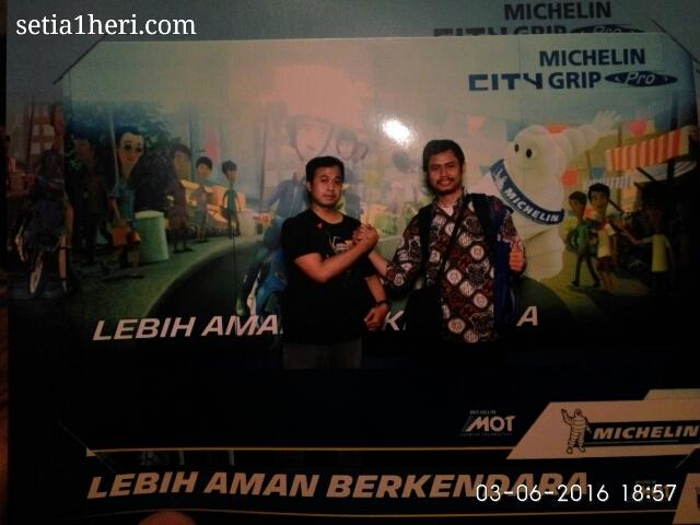 Michelin City Grip Pro dilaunching di Kota Surabaya tanggal 03 Juni 2016 di Hotel Shangri-La