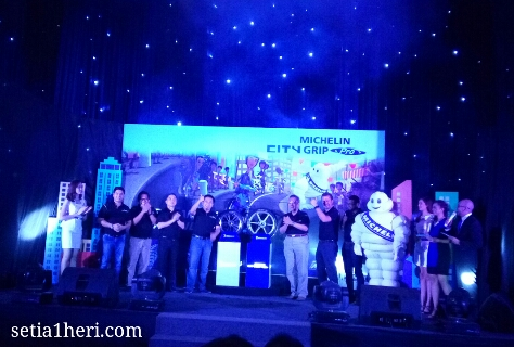 Michelin City Grip Pro dilaunching di Kota Surabaya tanggal 03 Juni 2016 di Hotel Shangri-La ~02