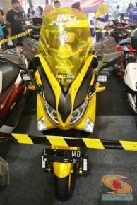 Ragam bentuk windshield, tameng, visor untuk modifikasi Yamaha NMAX (4)