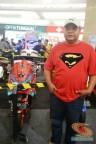 Yamaha NMAX modifikasi livery Spiderman 3 asal Mojokerto 2016 (1)