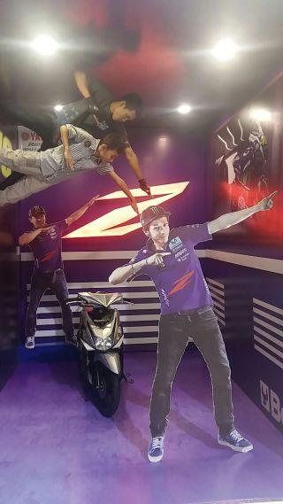Yamaha mio z tahun 2016 dengan Lorenzo dan Rossi