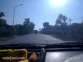 kondisi jalanan mulus Bojonegoro Kalitidu Padangan Ngawi tahun 2016