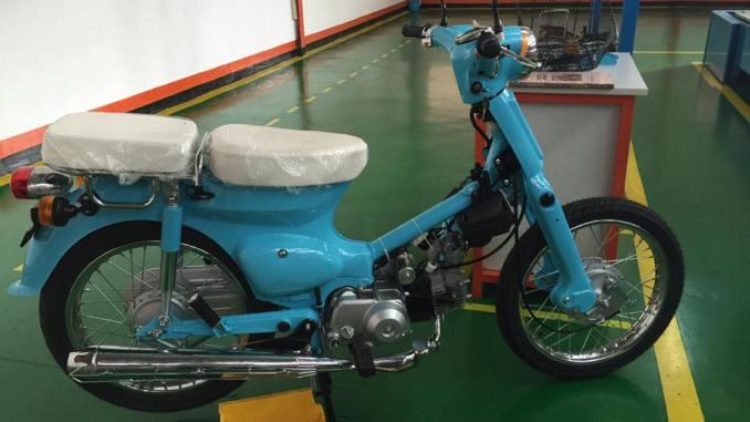 Super Cub Jadul Mirip Honda Pitung Dirakit Kembali Gazgas Indonesia