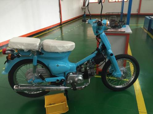 motor mirip honda pitung dirakit oleh gazgas indonesia tahun 2016 di pasuruan (1)