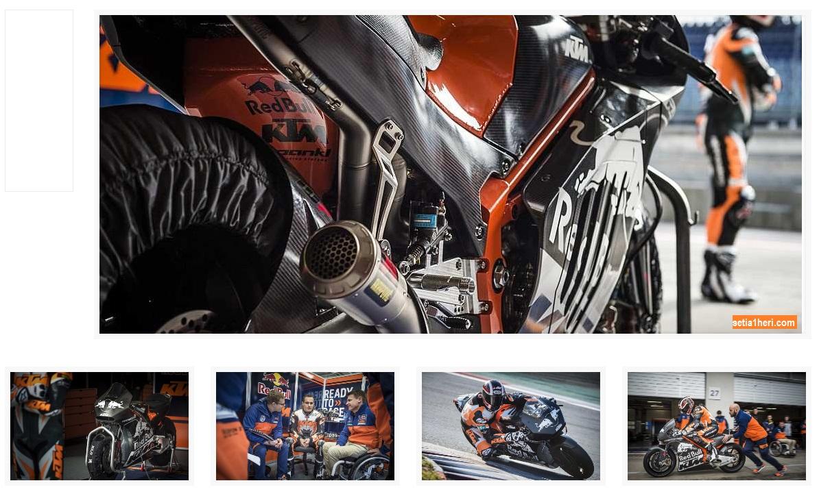 KTM RC16 siap balap moto gp tahun 2017