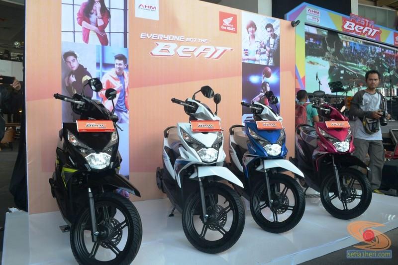 Pilihan Warna Honda Beat Esp Tahun 2016