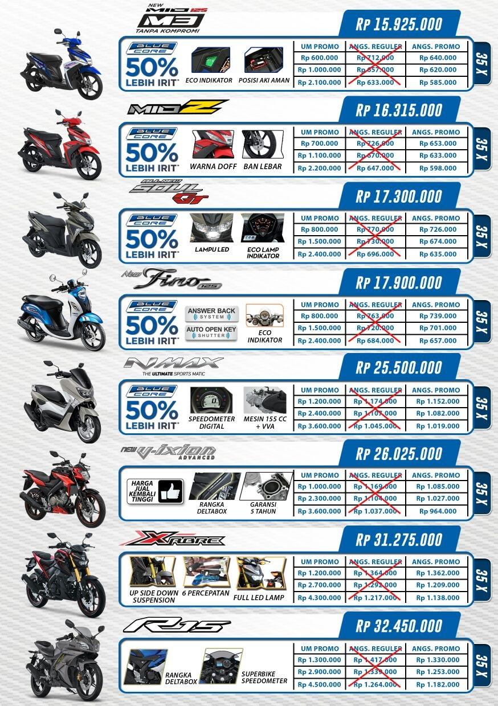 promo angsuran bulan agustus 2016 motor yamaha di jawa timur