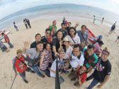 blogger-honda-di-pantai-pandawa-tahun-2016-2