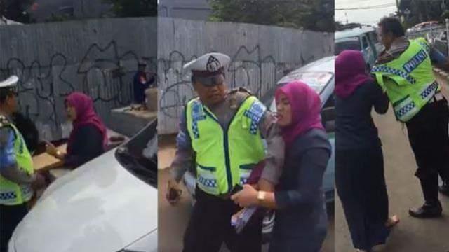 penganiayaan-polisi-oleh-ibu-pegawai-mahkamah-agung