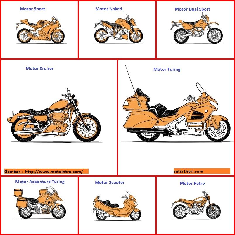 Jenis Motor Laki Alias Motor Batangan Mabrow Dan Mbaksis