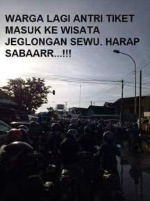meme wisata jeglongan sewu di jalan betoyo sembayat manyar gresik 2017 ~07