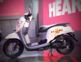 Honda All New Scoopy 12 inchi tahun 2017 varian playful
