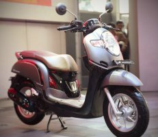 Honda All New Scoopy 12 inchi tahun 2017 varian stylish