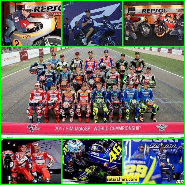 Nama-nama julukan pembalap moto GP tahun 2017