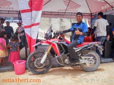 peluncuran honda CRF250Rally tahun 2017 di Bukit Jaddih Madura ~03