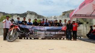 peluncuran honda CRF250Rally tahun 2017 di Bukit Jaddih Madura ~05