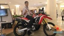setia1heri dengan honda crf250rally