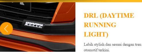 DRL all new daihatsu ayla tahun 2017