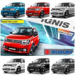 Spesifikasi lengkap dan harga Suzuki Ignis tahun 2017