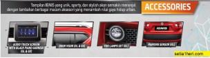 aksesoris Suzuki Ignis tahun 2017
